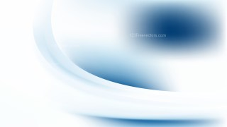 Blue and White Wave Background Template