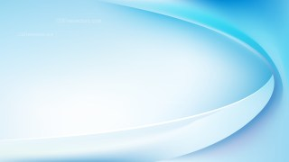 Abstract Glowing Blue and White Wave Background Illustrator