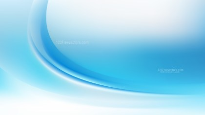 Abstract Blue and White Curve Background Illustration