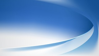 Abstract Glowing Blue and White Wave Background Vector Graphic