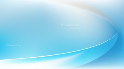 Abstract Blue and White Wave Background