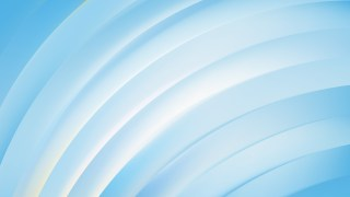 Blue and White Curved Stripes Vector Art