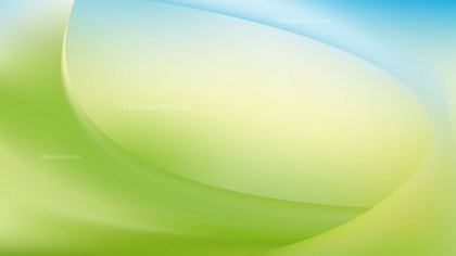 Abstract Blue Green and White Wavy Background Graphic