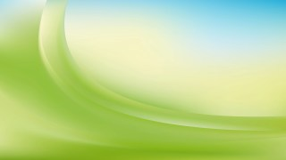 Blue Green and White Wave Background Template Design