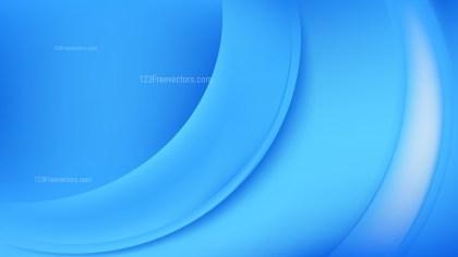Bright Blue Wave Background Vector Art