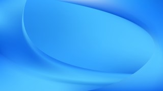 Abstract Bright Blue Shiny Wave Background