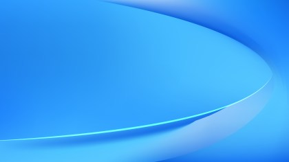 Bright Blue Wavy Background