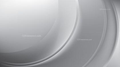 Glowing Bright Grey Wave Background