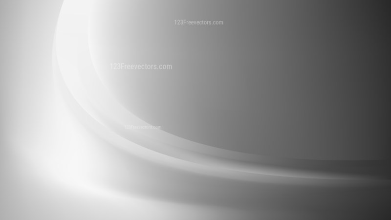 Bright Grey Wave Background Template Design