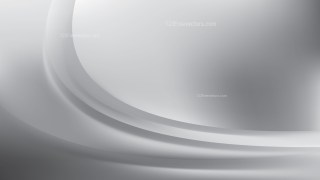 Bright Grey Wave Background Template