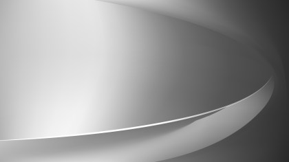 Bright Grey Abstract Curve Background Vector Illustration