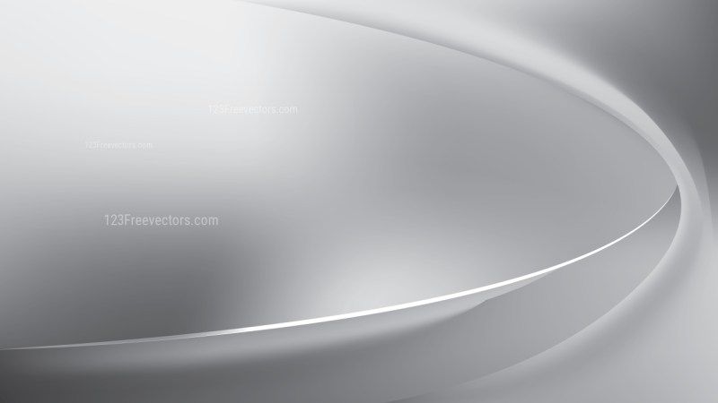 Abstract Glowing Bright Grey Wave Background