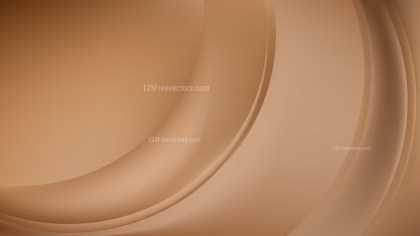 Brown Abstract Wave Background Template Vector