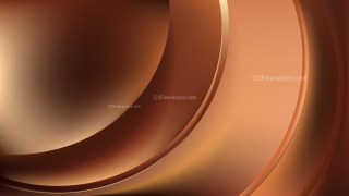Glowing Abstract Brown Wave Background