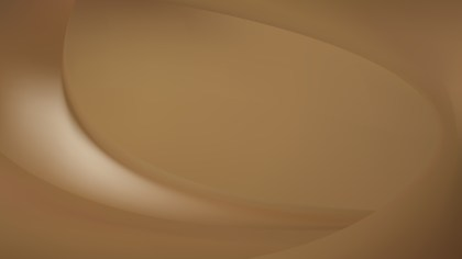 Brown Wave Background Illustration