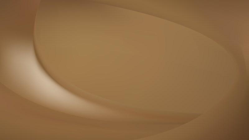 Brown Wave Background Illustration
