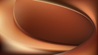 Abstract Brown Shiny Wave Background Graphic
