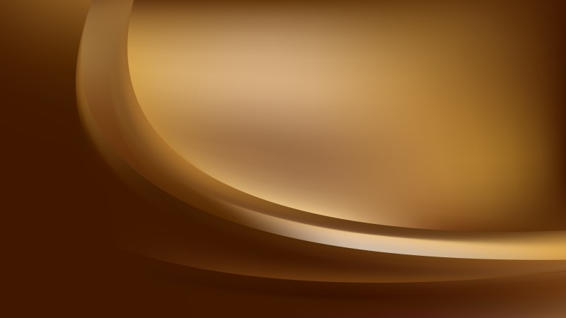 Abstract Brown Curve Background Illustration