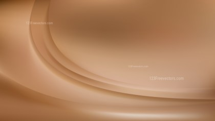Abstract Brown Wave Background Template Design