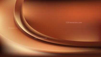 Brown Abstract Wave Background Template Graphic