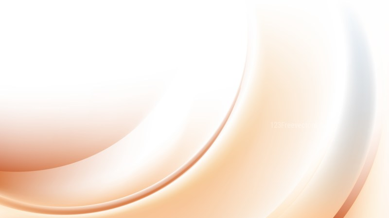 Abstract Brown and White Wave Background Template Illustrator