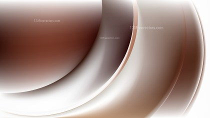 Abstract Brown and White Shiny Wave Background