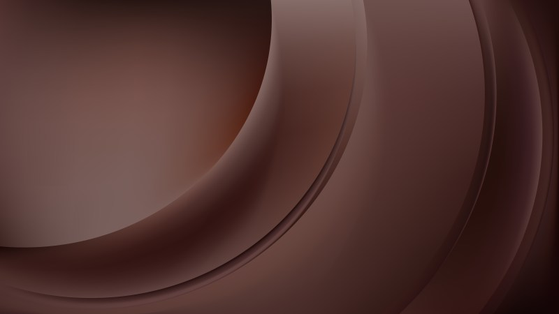 Coffee Brown Abstract Wavy Background Illustrator