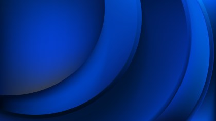 Abstract Cool Blue Wave Background Template