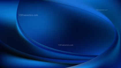 Cool Blue Abstract Curve Background Vector Image