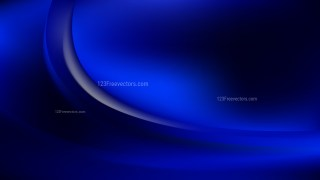 Cool Blue Abstract Wave Background Template Illustrator