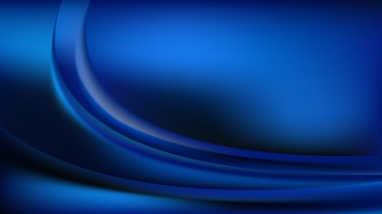Abstract Cool Blue Wavy Background