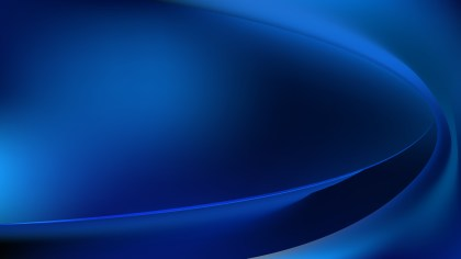 Cool Blue Abstract Wave Background Vector Illustration