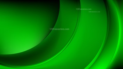 Cool Green Abstract Wave Background Template Graphic