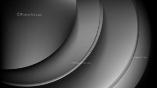 Cool Grey Abstract Wave Background Template