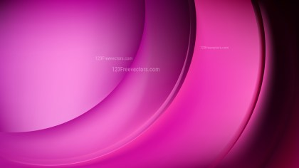 Abstract Cool Pink Wave Background Template