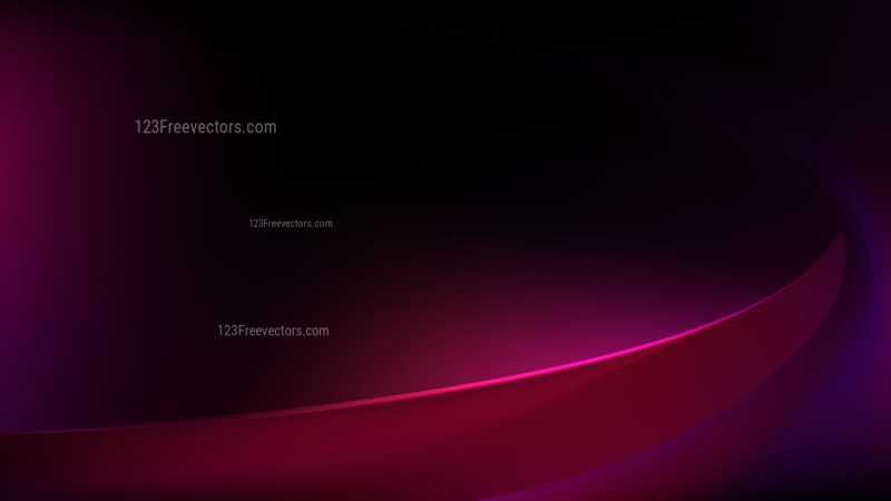 Abstract Cool Pink Curve Background