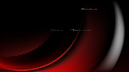 Glowing Abstract Cool Red Wave Background