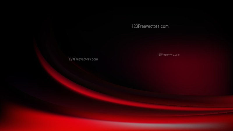 Cool Red Abstract Wave Background