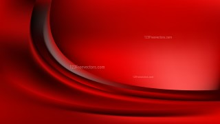 Abstract Glowing Cool Red Wave Background