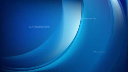 Abstract Dark Blue Shiny Wave Background
