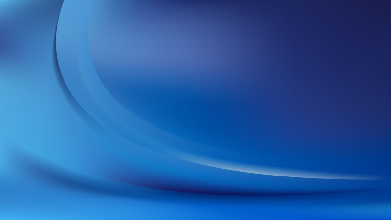 Abstract Dark Blue Wave Background Template Graphic