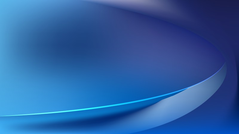 Glowing Dark Blue Wave Background