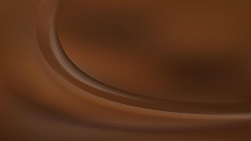 Abstract Dark Brown Wavy Background Graphic