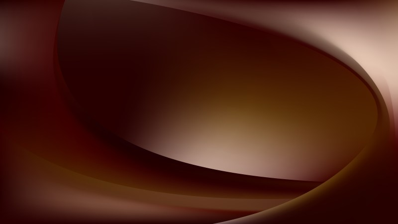 Dark Brown Abstract Curve Background Vector Art
