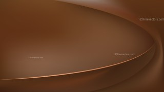 Dark Brown Abstract Curve Background