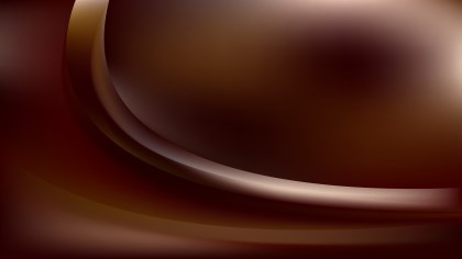 Abstract Dark Brown Shiny Wave Background Design
