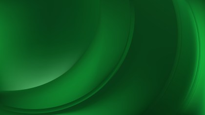 Dark Green Wavy Background Design