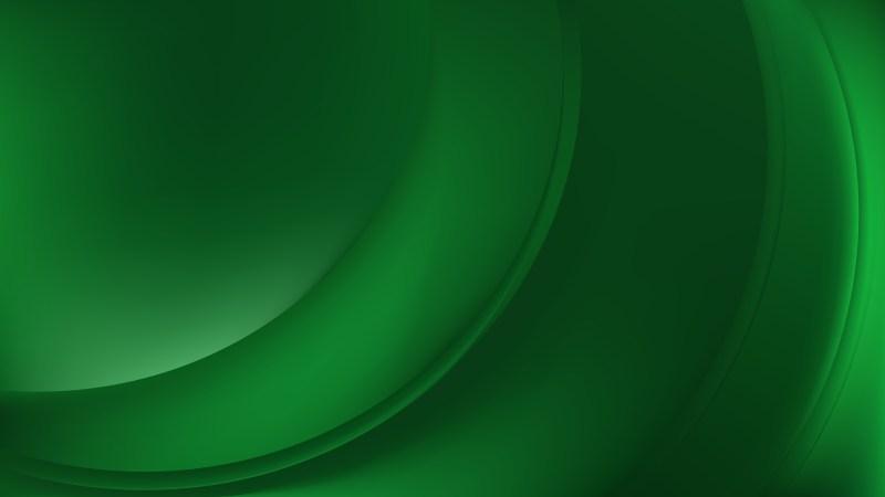 Dark Green Wavy Background Design