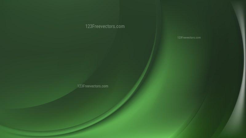 Dark Green Curve Background Image