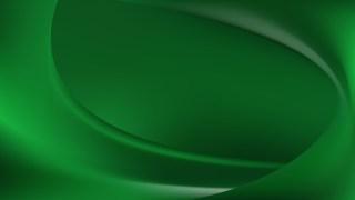 Dark Green Wave Background Template Vector Graphic
